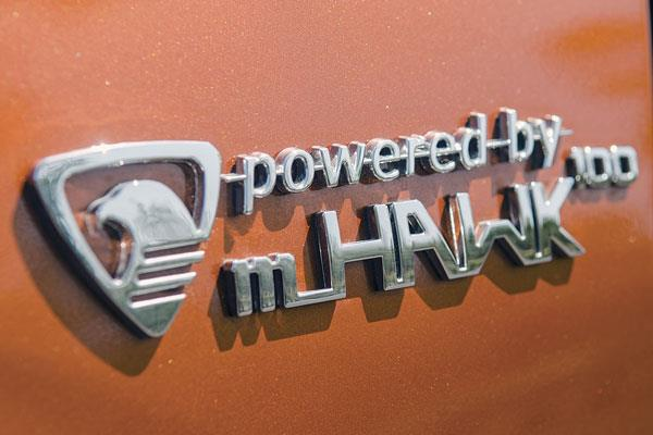 New mHawk100 engine is a more powerful version of TUV300's motor.