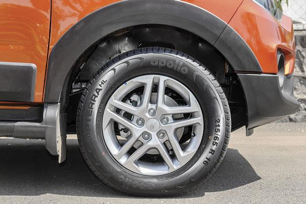 16-inch wheels are standard and look smart in top-spec with alloys.