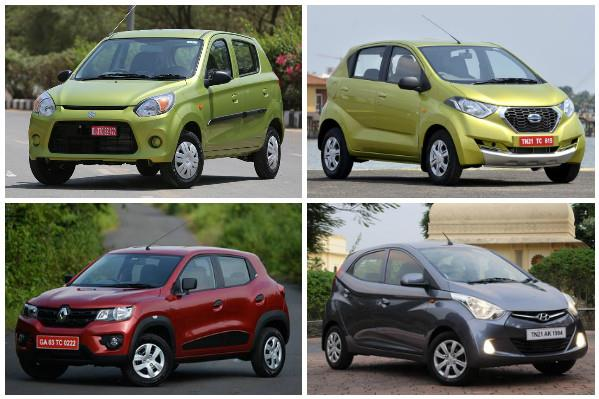 Maruti Alto 800 facelift vs rivals: Specifications comparison