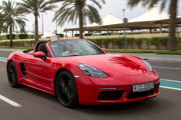 Porsche 718 Boxster review, test drive