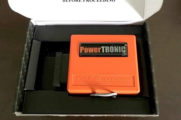 Race Dynamics Powertronic V2.0 product review, first report