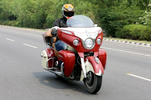 Indian Roadmaster review, test ride