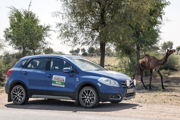 Maruti S-cross all-wheel drive being tested in India