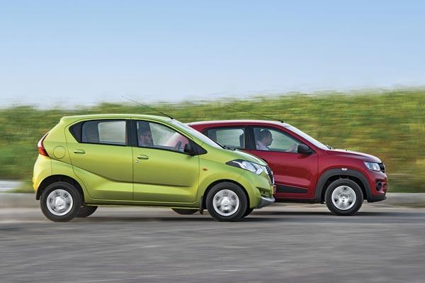 Datsun Redigo vs Renault Kwid comparison