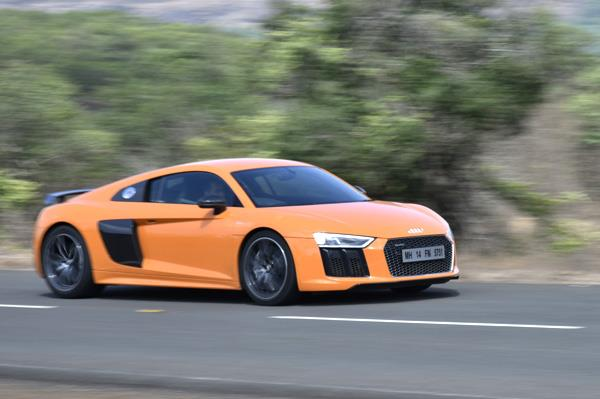New Audi R8 V10 Plus review, test drive