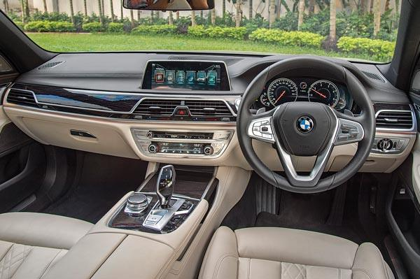 Dash looks similar to other BMWs but overall quality is superb.