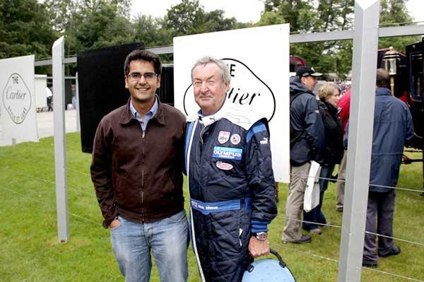 Goodwood is a congregation of car nuts. That's Pink Floyd's drummer Nick Mason!