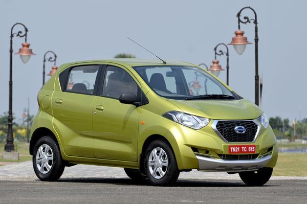 Datsun Redigo bags 10,000 bookings