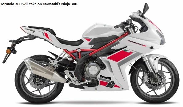 Benelli Tornado 302 launch in May 2017