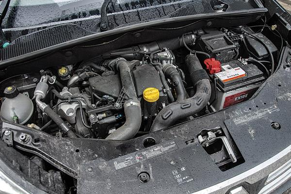 The turbo lag from the 1.5-litre diesel is quite substantial.