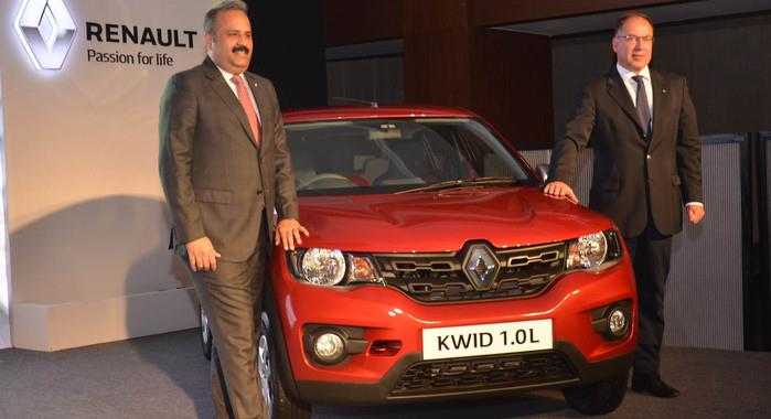 Renault Kwid 1.0 launched at Rs 3.82 lakh