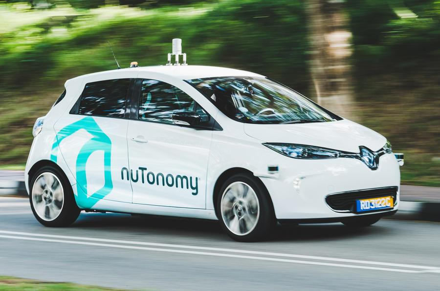 World's first autonomous taxi service begins trials in Singapore