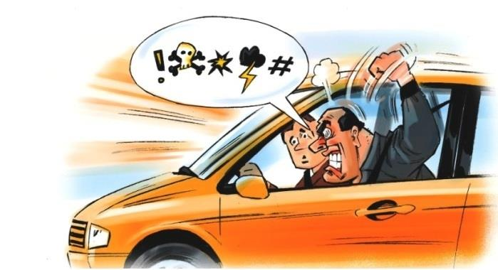 Road rage on the rise in India