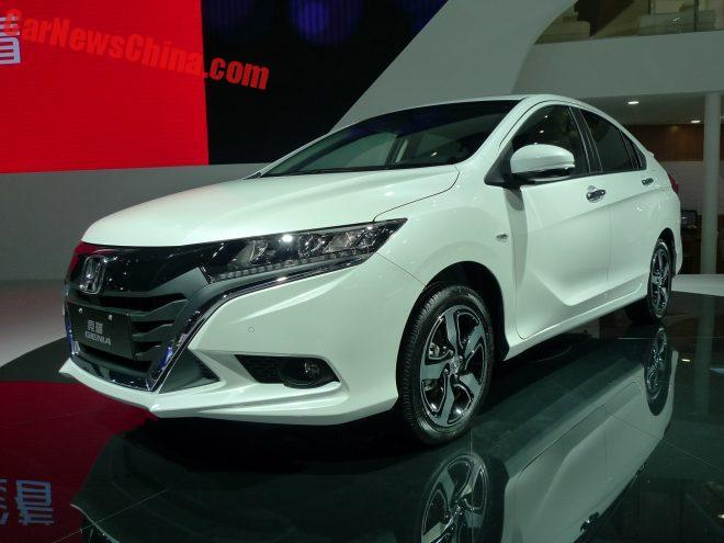 Honda Genia hatchback revealed in China