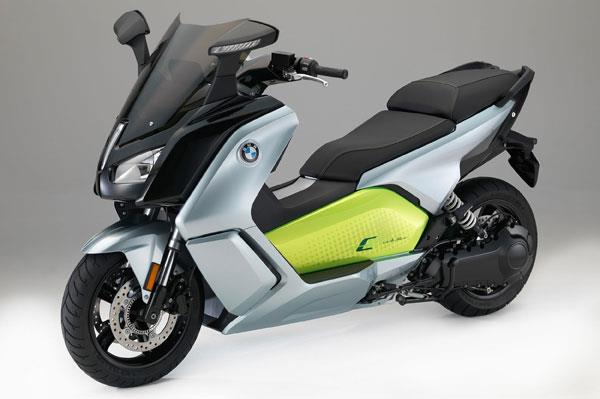 New BMW C Evolution unveiled