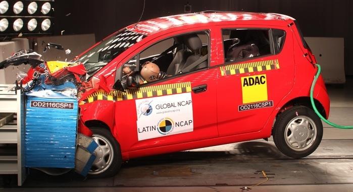 India-made Chevrolet Beat fails Latin NCAP tests