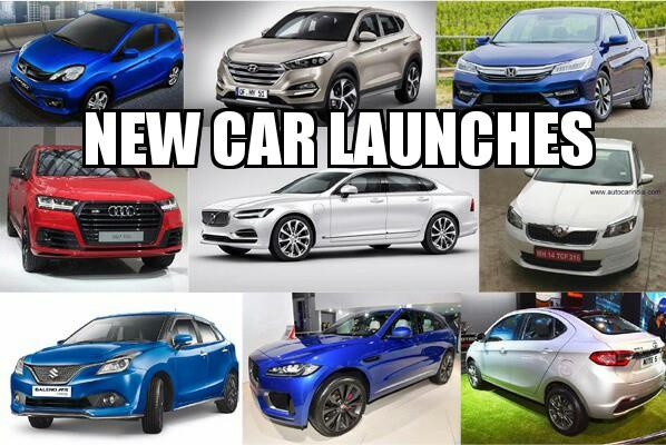 New car launches around the corner