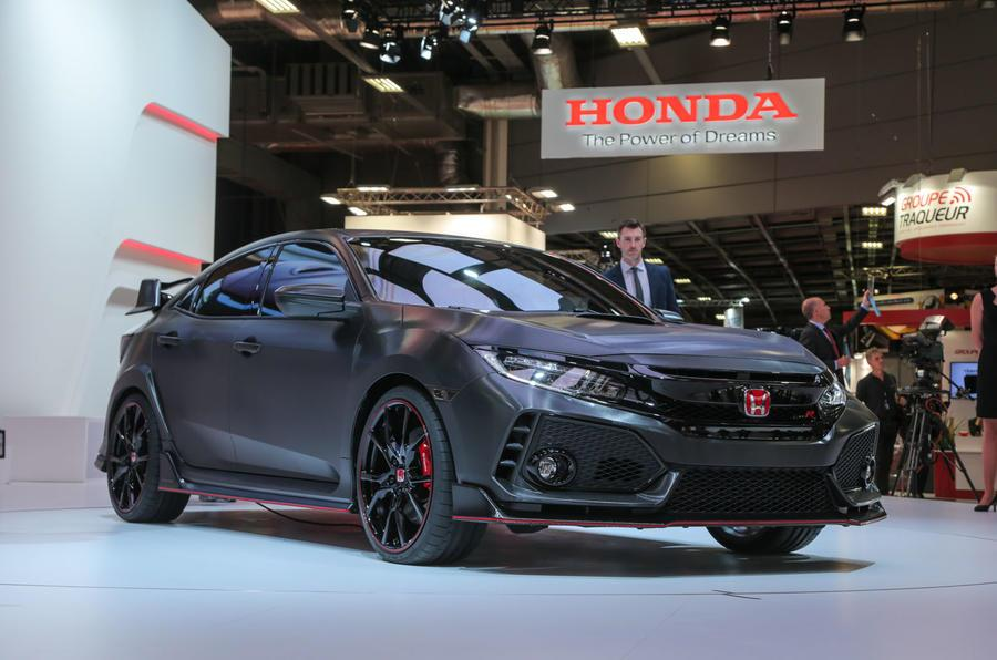 New Honda Civic Type R concept revealed