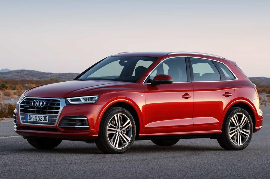 2017 Audi Q5 unveiled at the Paris motor show