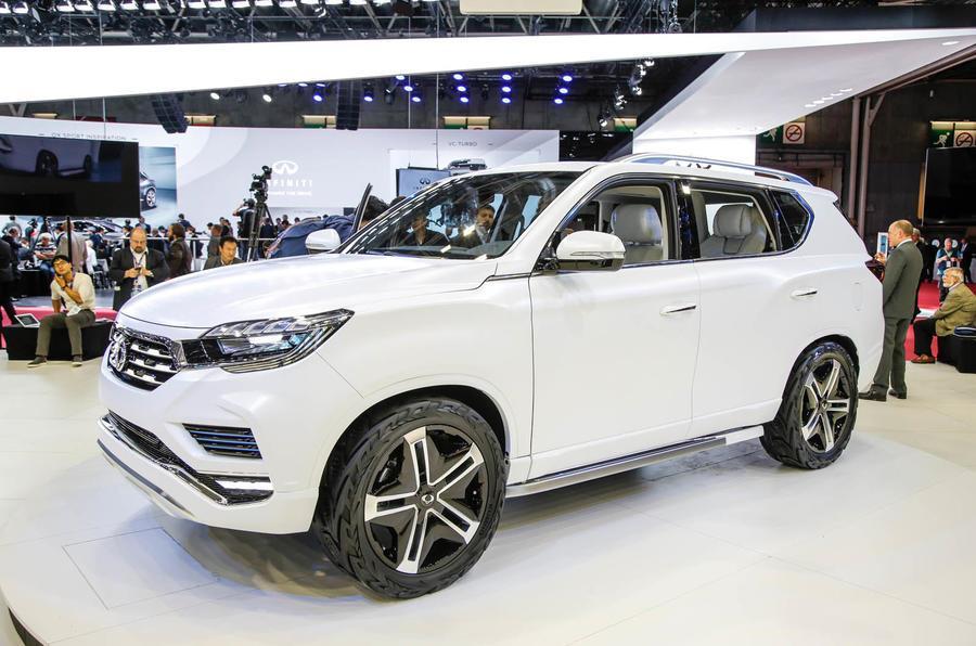 SsangYong LIV-2 concept debuts at Paris motor show