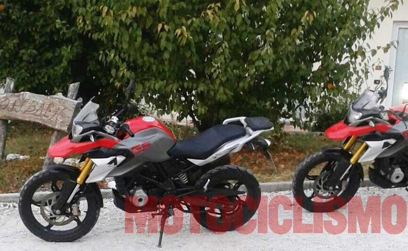 BMW G 310 GS dual-purpose bike spied