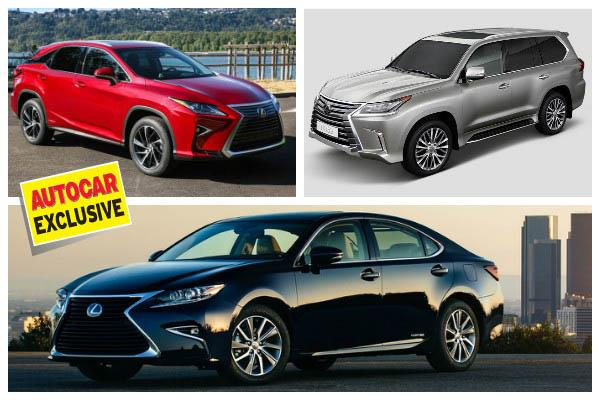 Lexus India launch on March 24, 2017; bookings open