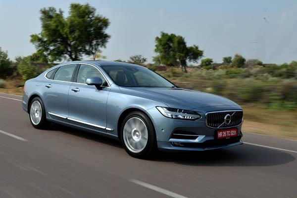 2016 Volvo S90 India review, test drive