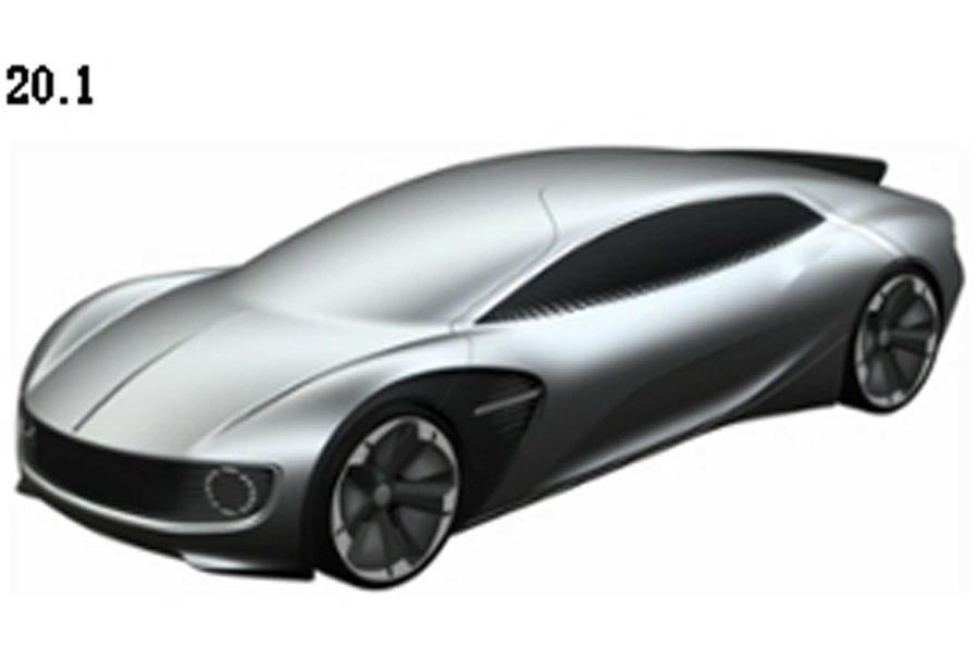 VW patent images preview future EV sports car