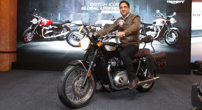 Triumph Bonneville T100 launched in India