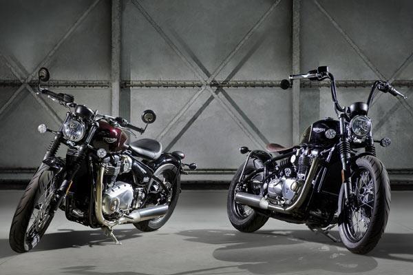 Triumph unveils Bonneville Bobber