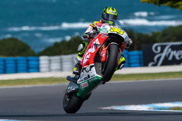 MotoGP: Crutchlow wins at Phillip Island as Marquez crashes out