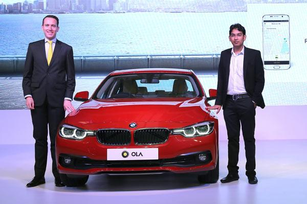 BMW to provide special services to Ola cabs