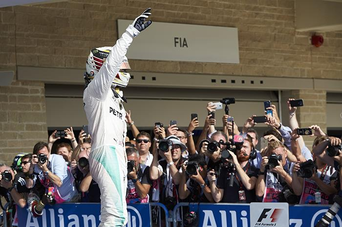 F1: Hamilton takes 50th F1 win in US Grand Prix