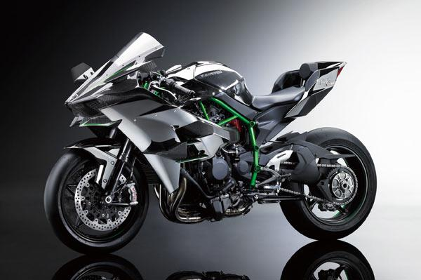 2017 Kawasaki H2R, H2 and H2 Carbon launched in India