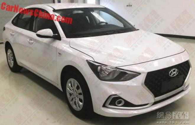New Hyundai Celesta sedan spied in China
