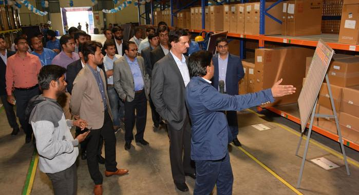 Nissan opens 3rd parts distribution centre in Pune