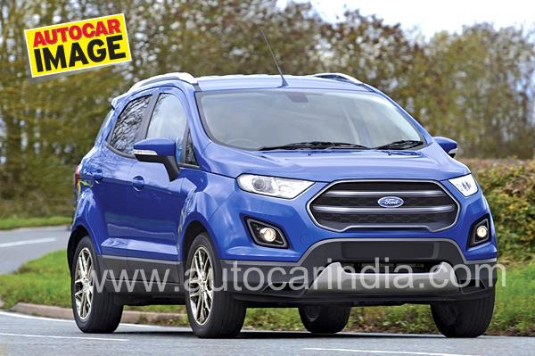 Ford EcoSport facelift India bound late-2017