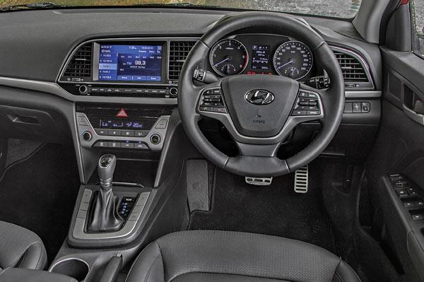 Dark colours and straight lines replace the wacky interior of the old car, but quality has taken a huge step forward.