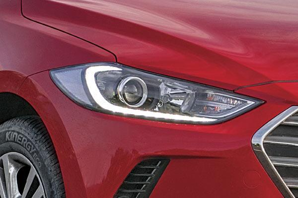 Slight hint of modern Jaguar in the headlamps, but it's only a good thing.