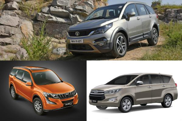 Tata Hexa vs rivals: Specifications comparison