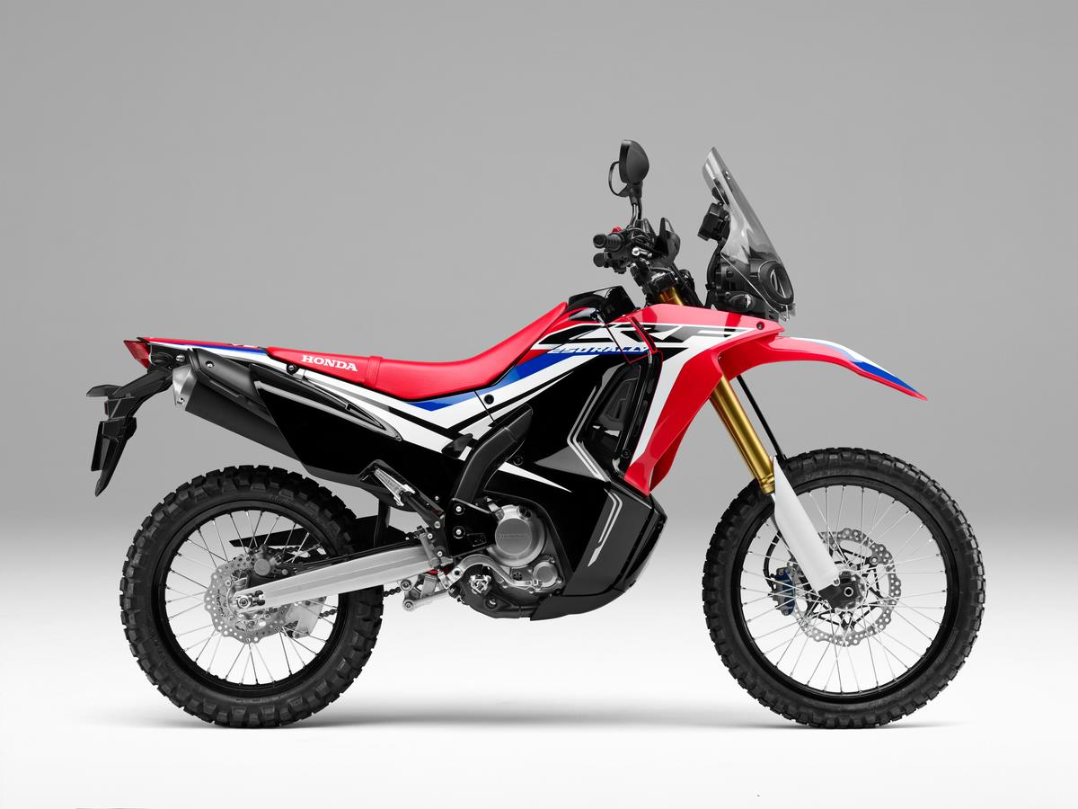 Honda unveils updated 2017 CRF250L, CRF250L Rally at EICMA