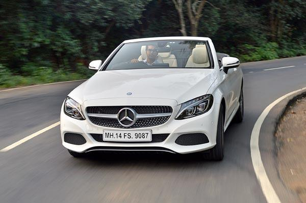 2016 Mercedes C 300 Cabriolet review, test drive