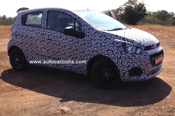 2017 Chevrolet Beat spied ahead of launch