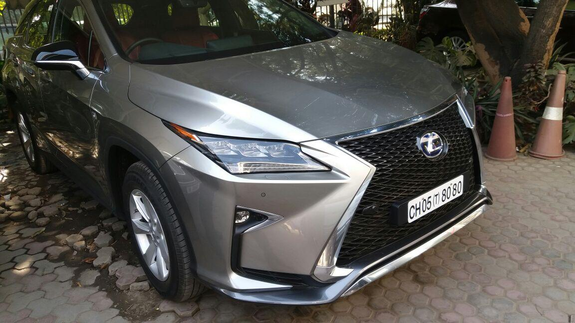 Lexus RX450h India launch next year