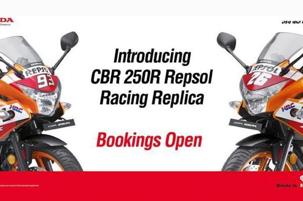 Honda launches new limited-edition Repsol Racing Replica CBR 250R
