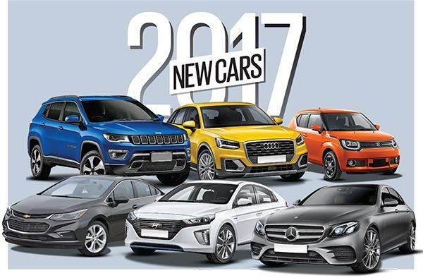 New cars for 2017: Upcoming SUVs