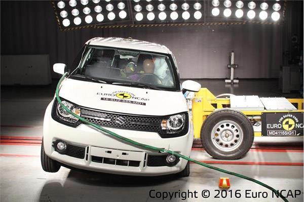India-bound Suzuki Ignis gets 5-star safety rating