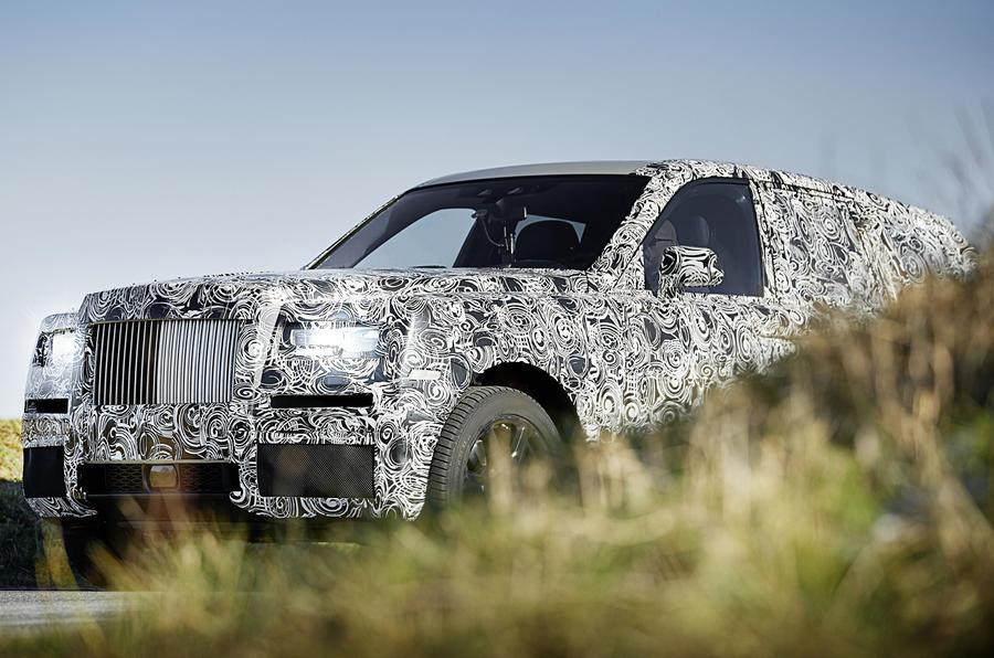 Rolls-Royce Cullinan previewed