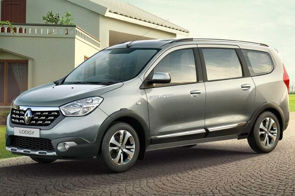 Updated Renault Lodgy Stepway launched at Rs 9.43 lakh