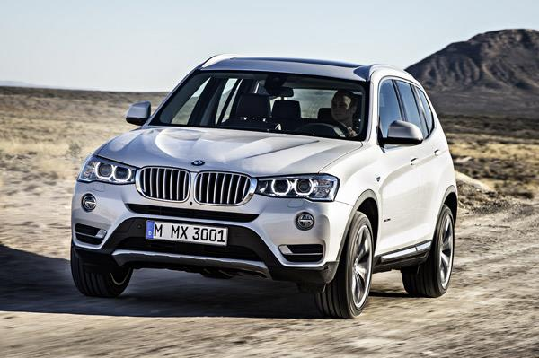 2016 BMW X3, X5 petrol launched
